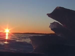 sunrise and rock II jay